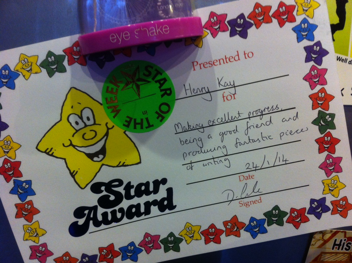 Henry Star of the Week